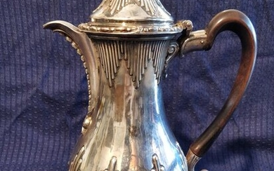 Coffee pot - .925 silver - David Whyte - London - 1769 - England - Second half 18th century