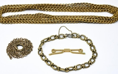 Collection Antique / Vintage Gold Filled Jewelry