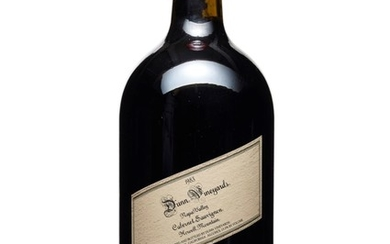 Dunn Vineyards, Howell Mountain Cabernet Sauvignon 1983, Napa Valley Etched bottle, No. 31/131 In original wooden case Obtained on release and offered in original packaging, unopened until inspection by Christie's specialists. Stored in a...