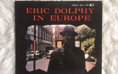 Eric Dolphy - Eric Dolphy in Europe - LP Album - 1962/1962