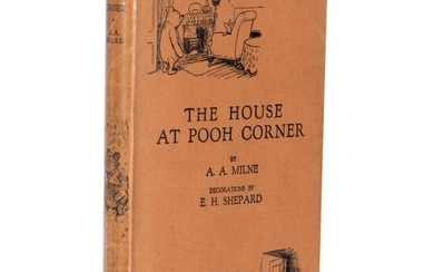 Fine First British Edition of Pooh Corner in Dust Jacket