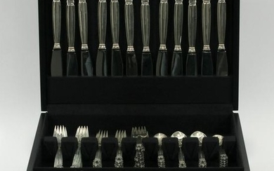 GEORG JENSEN 'ACORN' STERLING FLATWARE