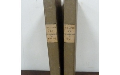 GILPIN WILLIAM. Observations on Several Parts of ...