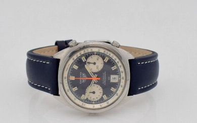 HEUER Carrera reference 1153 unpolished gents-wristwatch with...