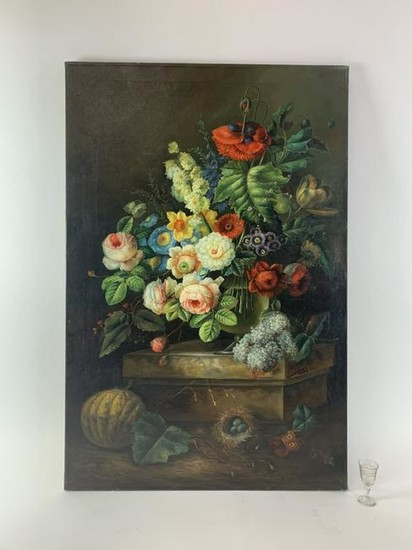 Hand-Painted Oil on Canvas Painting