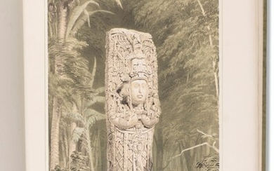 Iconic Plate Book on the Ancient Maya, Frederick Catherwood, 1844