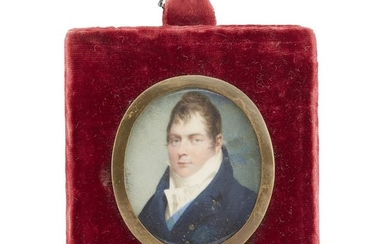 Jean-Baptiste Isabey (French, 1767-1855) Portrait miniature of Louis Philippe...