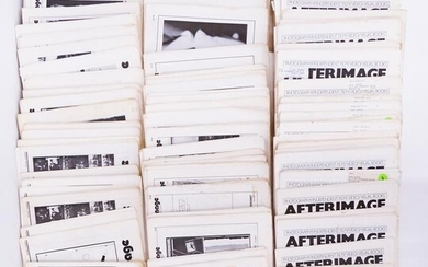 Large Collection of 'Afterimage' Newsletters