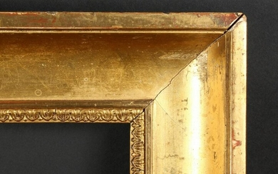 Late 18th Century English School. A Gilt Hollow Frame