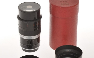 Leitz 90mm 9cm F:2.2 Thambar complete rare early Leica screw mount lens, great condition c.1934