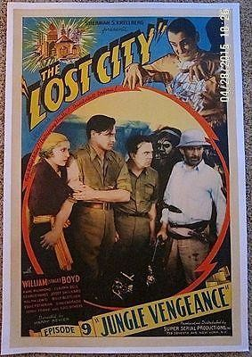 Lost City - Chapter 9 (1935) US 1SH Movie Poster LB