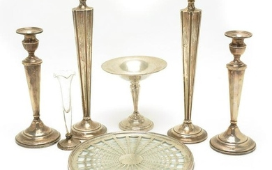 Lots of Various Sterling Silver Weighted Table