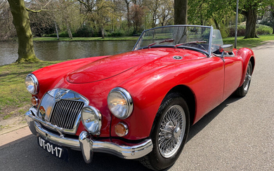 MG - A 1500 Roadster NO RESERVE - 1956