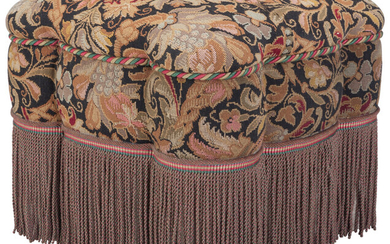 Maker unknown, A Contiental Upholstered Ottoman (late 19th century)