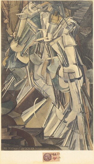 Marcel Duchamp, Nu déscendant un escalier No. 2 (Nude Descending a Staircase No. 2) (S. 458)