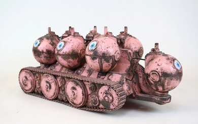 Martin Smida, sculpture, 'ADS 7 pink'