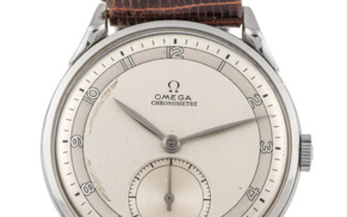 OMEGA, REF. 2603, CHRONOMETER, TWO-TONE DIAL, STEEL