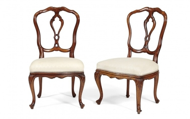 PAIR OF SMALL CHAIRS 18th-19th Century