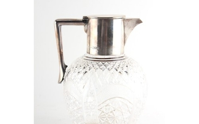 Property of a deceased estate - a late Victorian silver moun...