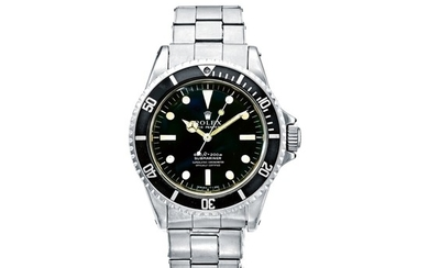 ROLEX | REF 5512/5513 SUBMARINER, A STAINLESS STEEL AUTOMATIC WRISTWATCH WITH BRACELET, CIRCA 1979 | 勞力士 | 5512/5513型號「SUBMARINER」精鋼自動上鏈鍊帶腕錶,年份約1979