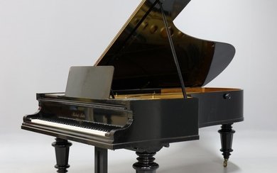 Robert Seitz. Concert grand piano from the 1880-1885s