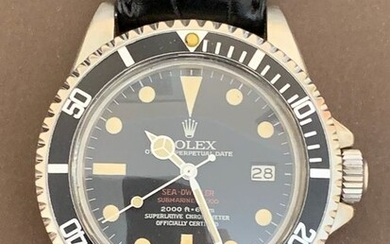 Rolex - Sea Dweller 'Double Red' - Ref. 1665 - Unisex - 1970-1979
