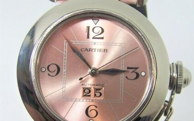 S/Steel Ladies CARTIER PASHA Automatic Watch Ref. 2475*