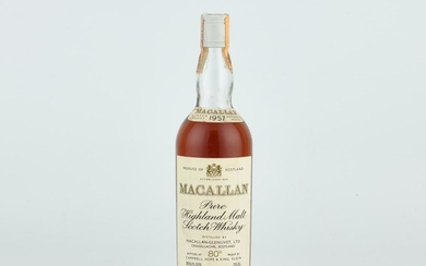 The Macallan 18 Year Old 43.0 abv 1957 (1 BT)