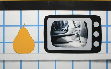 Tom Wesselmann - TV Still Life