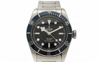Tudor: A gentleman's wristwatch of steel. Model Black Bay, ref. 79220B. Mechanical movement with automatic winding, cal. 2824. 2015.