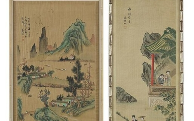 Two Chinese Paintings.