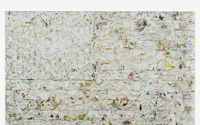 Vik Muniz, White Flag