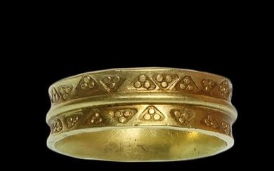 Viking Electrum Gold Ring, c. 9th-10th Century A.D.