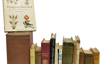 16)BOOKS:HISTORICAL FICTION, DICTIONARY, STATE LAW