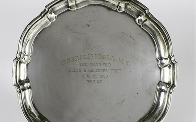 1960 W.N. REYNOLDS MEMORIAL PRESENTATION PLATTER