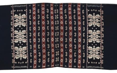 A COTTON WARP IKAT, SAVU OR ROTI ISLAND, INDONESIA,...