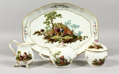 A SUPERB EARLY 19TH CENTURY/LATE 18TH CENTURY MEISSEN