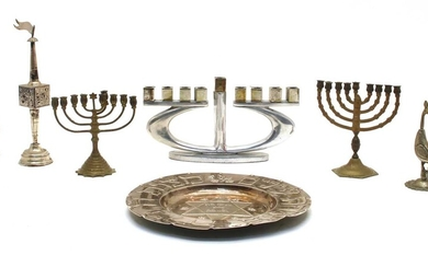 A collection of Judaica