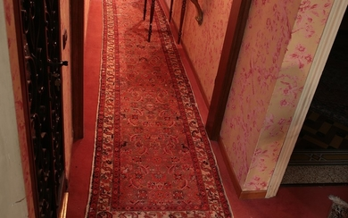 A persian long carpet