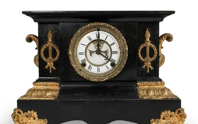 Ansonia Metal And Bronze Mantle Clock
