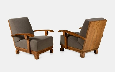 Art Deco First Half of the 20th Century Pair of
