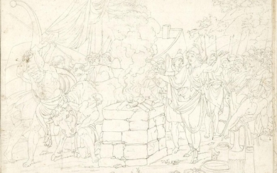 British Neo-Classical School, late 18th/early 19th century- Scenes from Antiquity;...