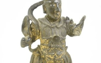 Bronze statue of a Chinese dignitary from the...