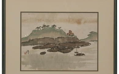 Chinese Landscape Painting by Chen Shuren