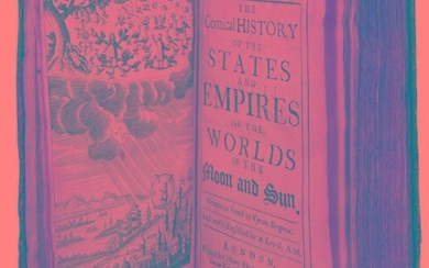 Comical History of the States and Empires. by Cyrano de Bergerac (First Edition)