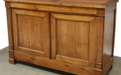 FRENCH LOUIS PHILIPPE PERIOD FRUITWOOD BUFFET