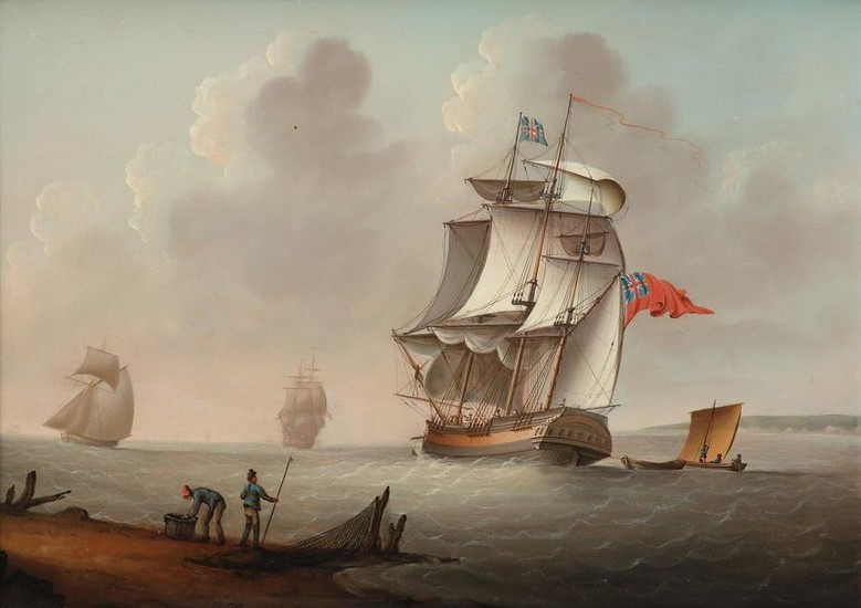 Francis Hustwick (1797-1865) An English yacht and other...