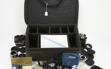 Large Group of Hasselblad Camera Accessories