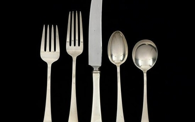 "Richard Dimes ""Irish Antique"" Sterling Silver Flatware"