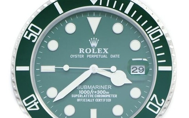 Rolex Submariner Dealers Wall Clock